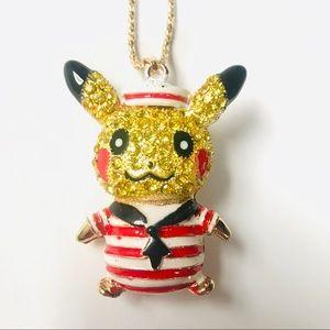 🆕 Pikachu Crystal Necklace